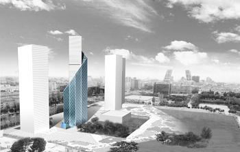 Proyectos y obras de edificios de oficinas etra arquitectos - Oficinas de mutua madrilena ...